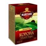 Чай МАЙСКИЙ Корона Российской империи, черный листовой, 200г