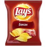 Чипсы LAY`S со вкусом бекона, 80г
