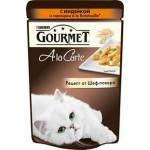 Корм для кошек GOURMET Ala carte с индейкой, 85г