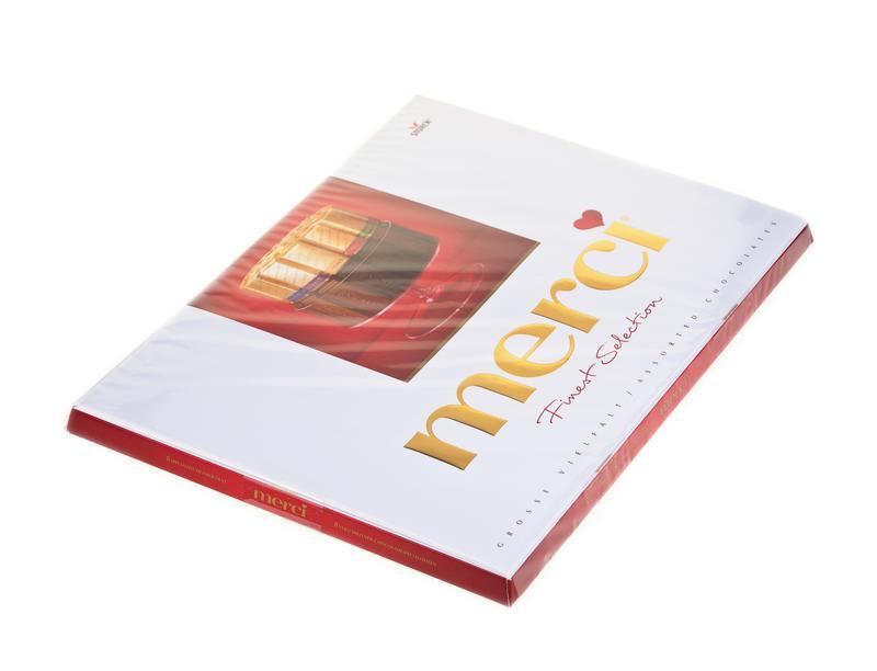 Конфеты MERCI шоколадные ассорти, 675 г