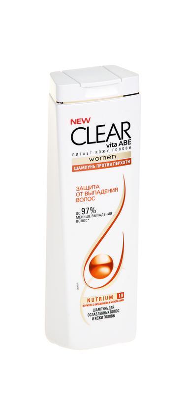 Шампунь CLEAR VITA ABE Защита от выпадения волос, 400мл
