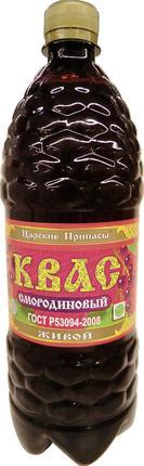 Квас ЦАРСКИЕ ПРИПАСЫ Вкусный Смородиновый, 1л