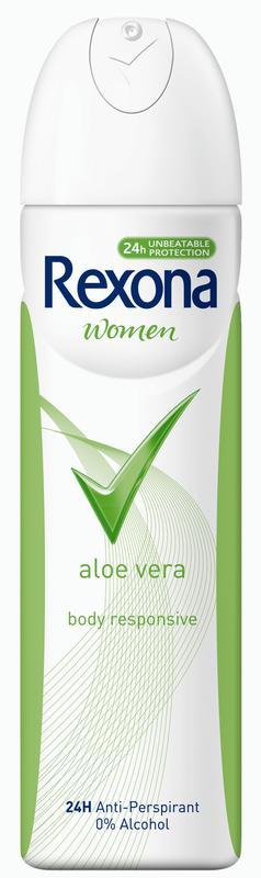 Дезодорант - спрей REXONA для женщин Aloe Vera, 150г
