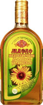 Масло подсолнечное GOLDEN KINGS Домашнее украинское, 500мл