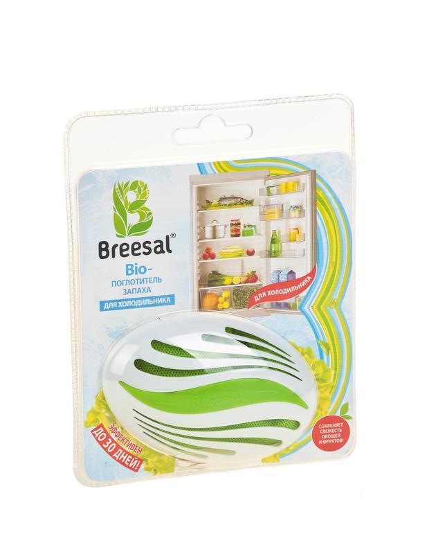 Поглотитель запаха BREESAL BIO для холодильника, 80 г