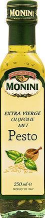 Масло оливковое MONINI Extra Virgin песто, 250 мл
