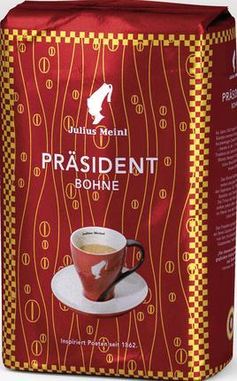 Кофе зерновой JULIUS MEINL President, 500 г