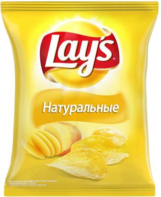 Чипсы LAYS Натуральные, 80г