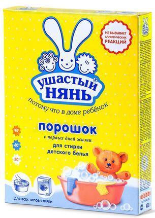 Стиральный порошок УШАСТЫЙ НЯНЬ, 400г
