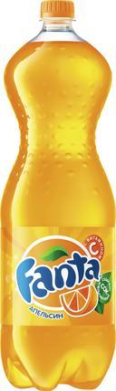 Напиток газированный FANTA апельсин, 2л