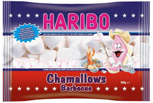 Зефир HARIBO Chamallows Barbecue, 300 г
