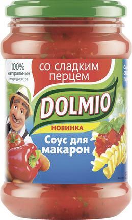 Соус DOLMIO со сладким перцем, 350г