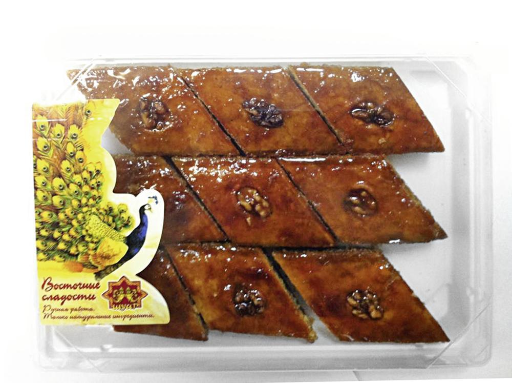 Восточная сладость ШУАР пахлава ореховая, 500г
