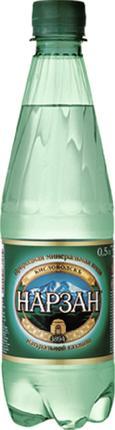 Минеральная вода НАРЗАН природной газации в стекле, 0,5л