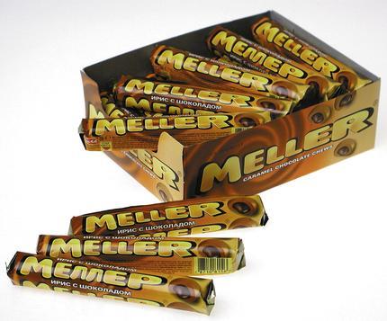 Ирис MELLER молочный шоколад, 38г
