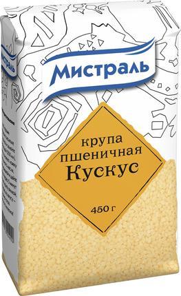 Крупа пшеничная МИСТРАЛЬ Кускус, 450г