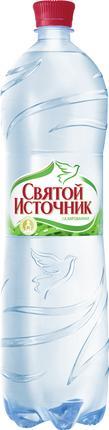 Вода СВЯТОЙ ИСТОЧНИК газированная, 1,5л