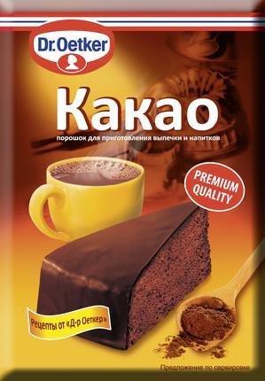 Какао-порошок DR. OETKER, 50г