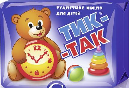 Туалетное мыло для детей ТИК-ТАК, 150г