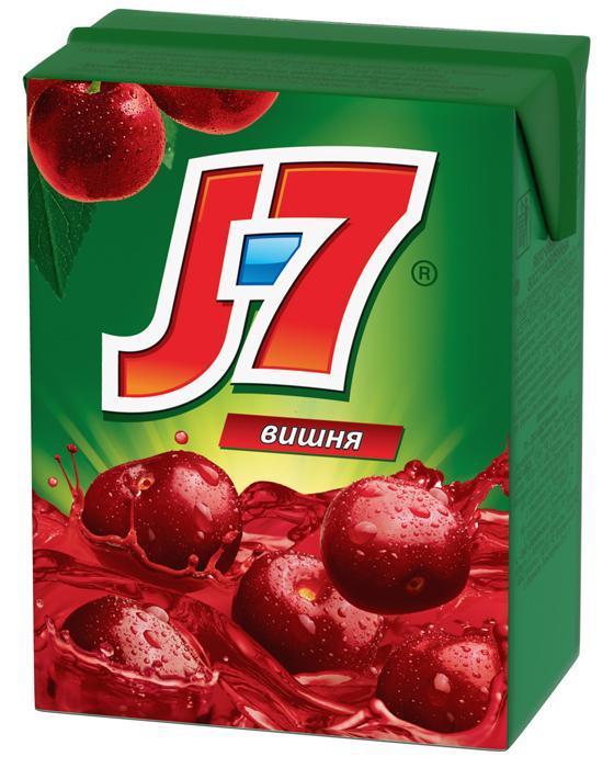 Нектар J7 вишневый, 200 мл