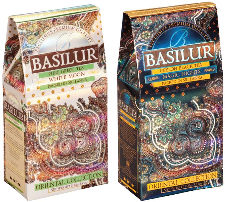 Чай черный BASILUR Magic Nights листовой, 100г