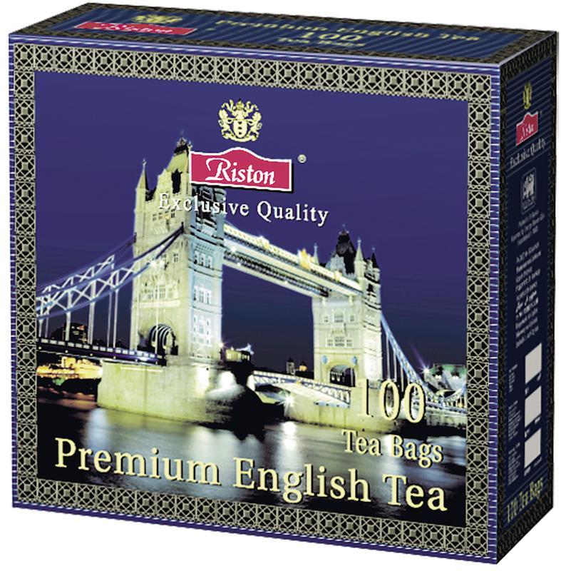 Чай RISTON Ceylon Premium Черный, 100х2г