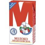 Молоко ЛИАНОЗОВСКОЕ стерилизованное 3,2%, 950г