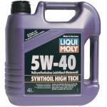 Моторное масло синтетическое LIQUI MOLY Synthoil High Tech 5W-40, 4л