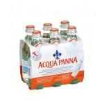 Минеральная вода ACQUA PANNA без газа, 6*0.25 л