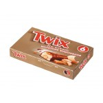 Мороженое молочное TWIX мультипак, 6x43,5г