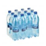 Вода AQUA MINERALE питьевая газированная, 0,6 л
