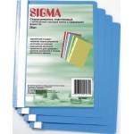 Папка-скоросшиватель SIGMA пластиковая А4