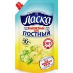 Соус майонезный ЛАСКА постный 56%, 470г