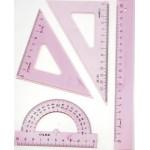 Геометрический набор ARO средний, 4 пр