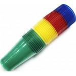 Стакан пластиковый HORECA SELECT A22 зеленый, 200мл, 100шт