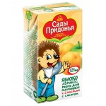 Пюре САДЫ ПРИДОНЬЯ яблоко/абрикос, 125г