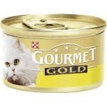 Консервы для кошек GOURMET Gold мусс с курицей, 85г
