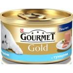 Консервы для кошек GOURMET Gold мусс с тунцом, 85 г