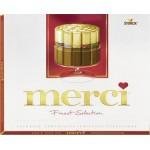 Шоколадные конфеты MERCI Ассорти, 250г