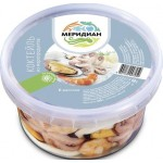 Коктейль из морепродуктов МЕРИДИАН в рассоле, 430г