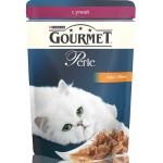 Корм для кошек GOURMET Perle мини-филе с уткой, 85г