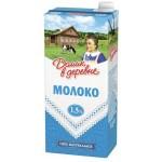 Молоко ДОМИК В ДЕРЕВНЕ ультрапастеризованное, 1,5% 950 г