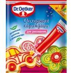 Карандаши сахарные DR. OETKER,76 г