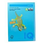 Цветная бумага IQ COLOR интенсивный светло-синий 80г 500листов