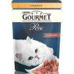 Корм для кошек GOURMET Perle мини-филе с индейкой, 85г