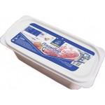Мороженое пломбир HORECA SELECT с кусочками клубники контейнер, 2,5кг