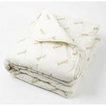 ШЕРСТЯНОЕ Одеяло в поликоттоне 175х200 шерсть/хл/плстр.