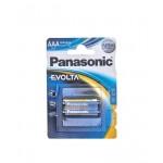Батарейки PANASONIC Evolta AAA в упаковке, 2 шт