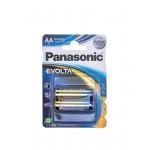 Батарейки PANASONIC Evolta АА в упаковке, 2 шт