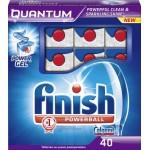 Таблетки для посудомоечных машин FINISH Quantum в упаковке, 40шт